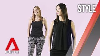 Style Switch makeover: How to dress for your body when you're taller than most women | CNA Lifestyle