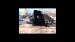 Video still for Felling Danco Dual Dump Trailer