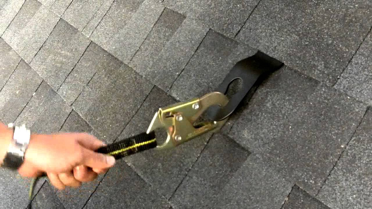 Hitchclip Roof Anchor Safe Youtube