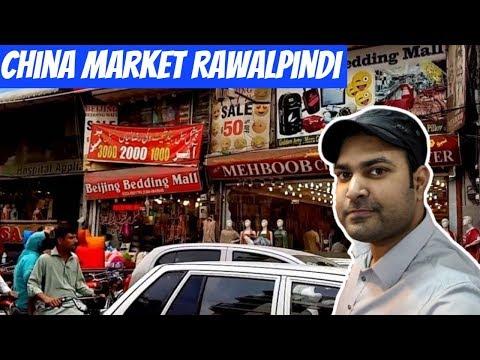 China Market Rawalpindi Pakistan