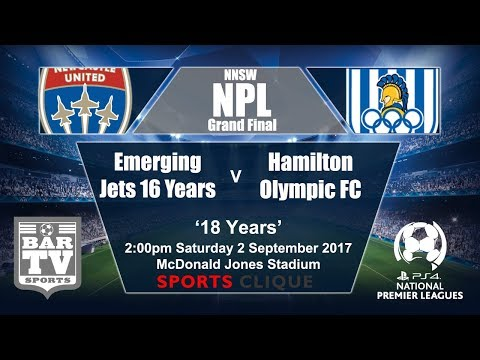 2017 NNSWF NPL U18's Grand Final - Newcastle Jets v Hamilton Olympic