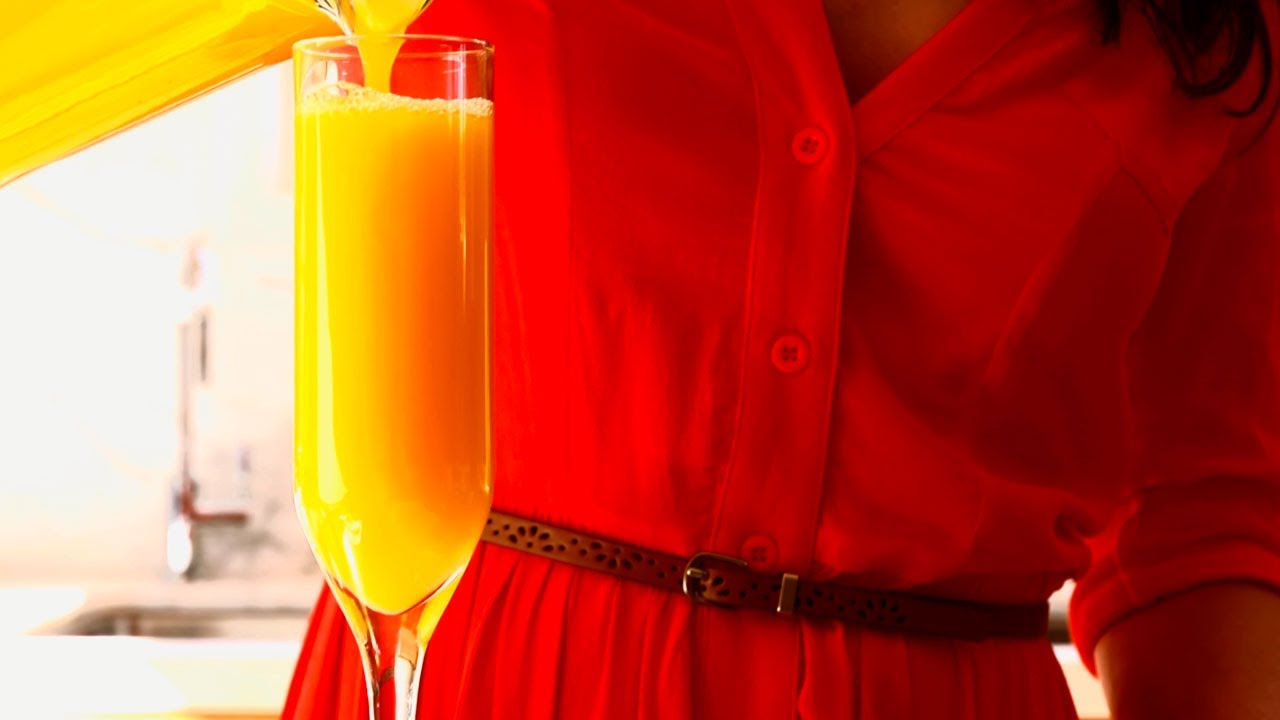 how to make mimosas for a crowd