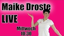 LiveStream mit Maike Droste