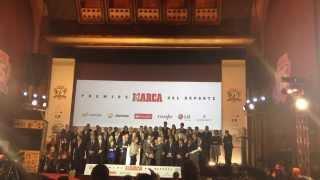 Rafa Nadal recoge el premio LA LEYENDA DE MARCA