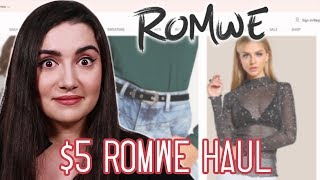 I Wore $5 Clothes From Romwe For A Week thumbnail