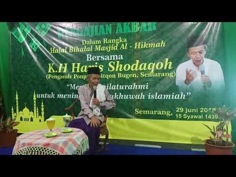 Pengajian Akbar Bersama Kyai Haris Shodaqoh