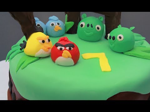 Angry birds birthday cake youtube angry birds birthday cake solutioingenieria Choice Image