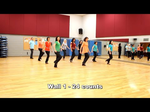 Nancy Mulligan - Line Dance (Dance & Teach in English & 中文)