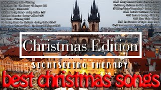 Best Christmas songs 2018 - 2019 (Vocal) & Prague Christmas Market [1 hour songs]
