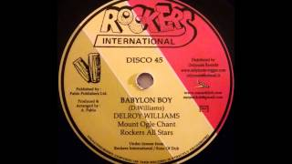 DELROY WILLIAMS - Babylon Boy [1979]