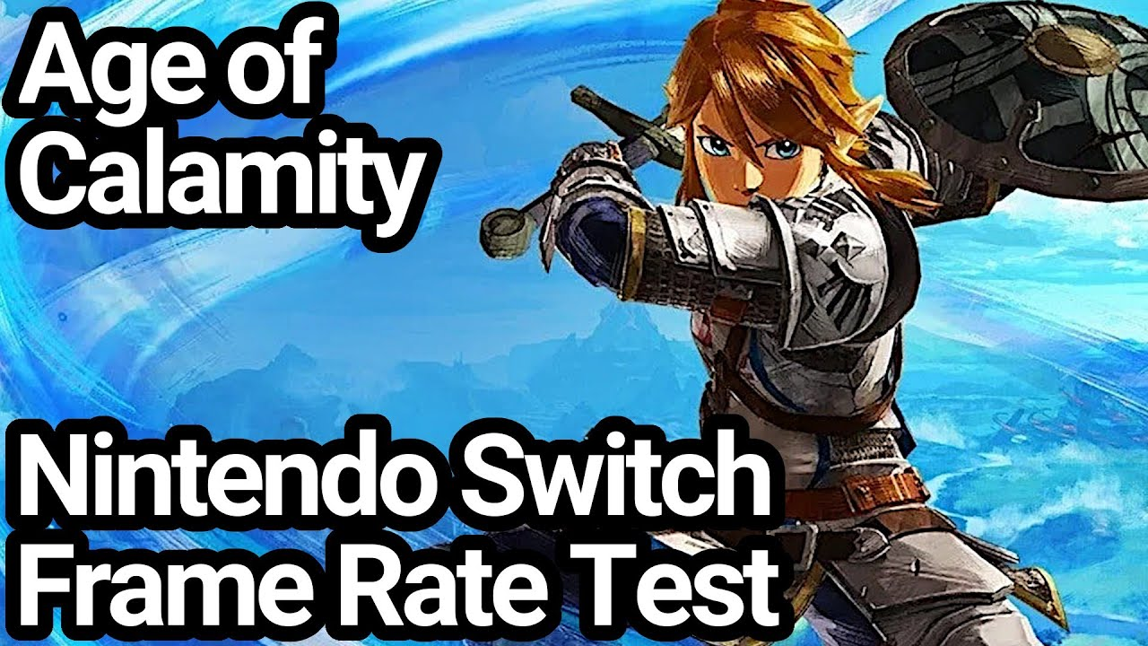 Hyrule Warriors Age Of Calamity Switch Frame Rate Test Demo Youtube