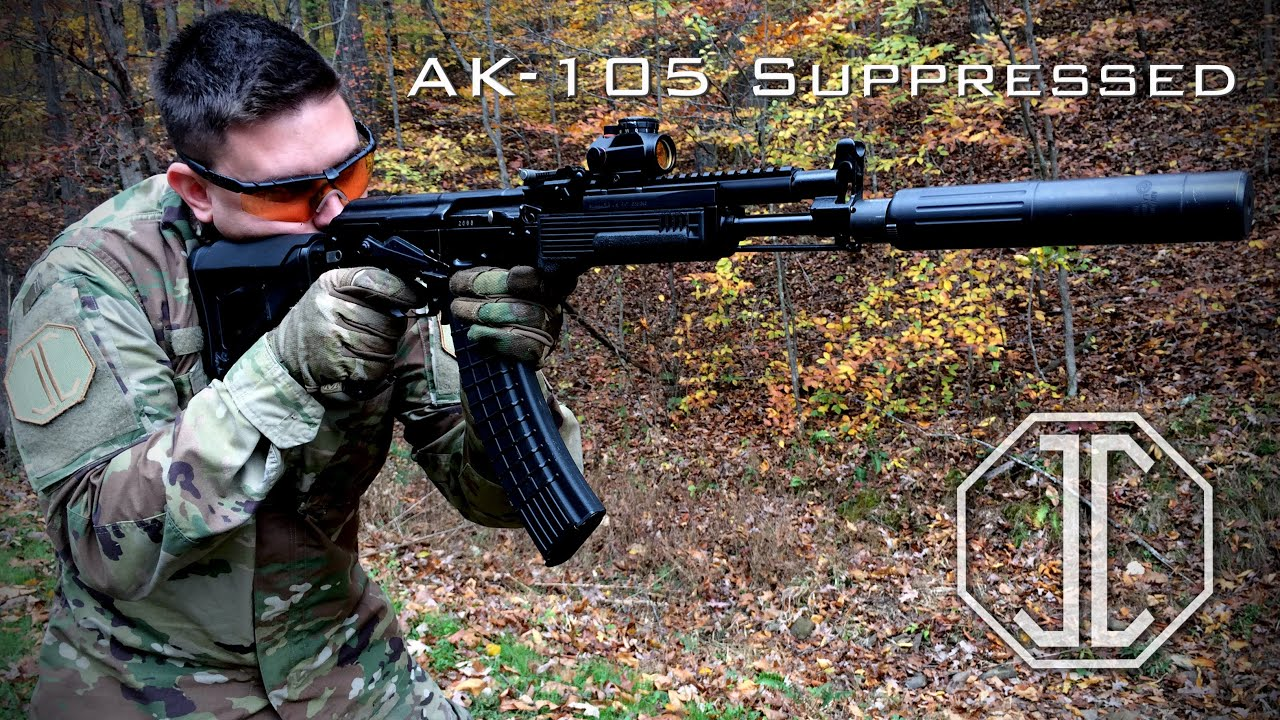 Ak 105 ak 105 suppressor sound test - jmac customs - youtube