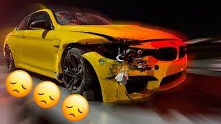 HICE PEDAZOS MI BMW M4  *choque*    ALFREDO VALENZUELA