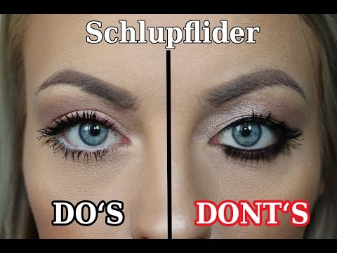 how to schlupflider richtig schminken drooping eyelid hacks youtube. Black Bedroom Furniture Sets. Home Design Ideas