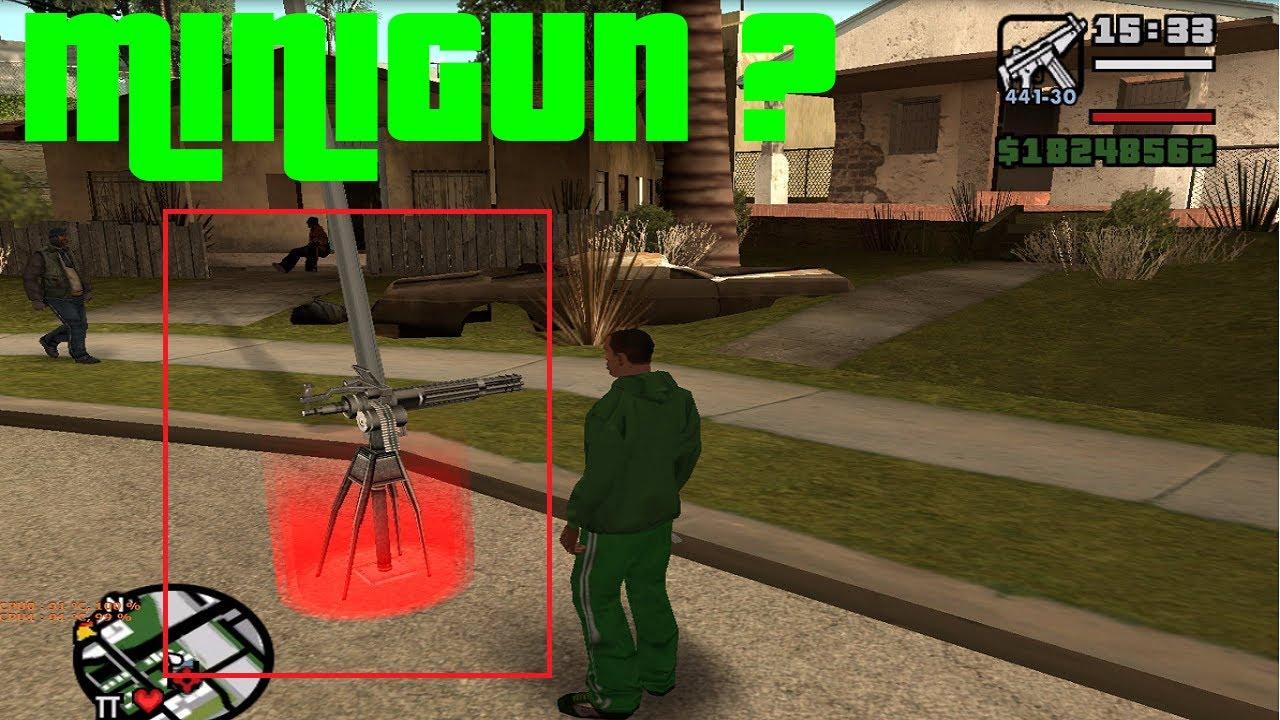 T Letter Wallpaper 3d Minigun In Grove Street In Gta San Andreas Download Link