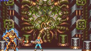 Game Boy Advance Longplay [036] Contra Advance: The Alien Wars EX
