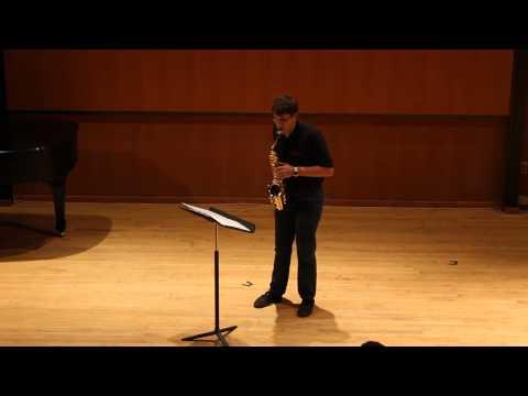 Phi Mu Alpha Sinfonia  Epsilon Iota Chapter at FSU Saxophone Solo by Ian Crumpton
