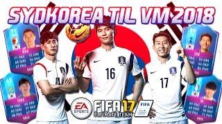 SYDKOREA TIL VM 2018!! - FIFA 17 Ultimate Team (DANSK)