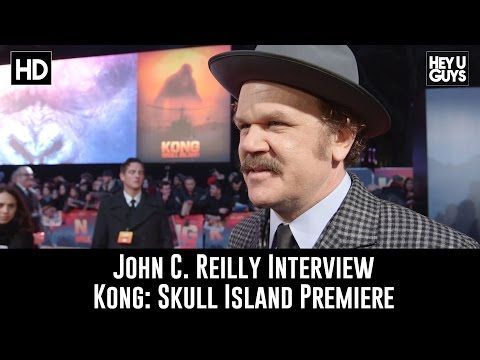 John C. Reilly Interview - Kong: Skull Island Premiere
