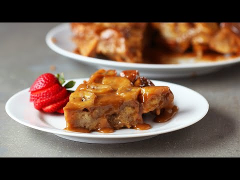 Download Youtube: Upside-Down Peanut Butter Banana French Toast Bake
