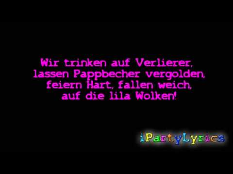 Marteria, Yasha & Miss Platnum - Lila Wolken [ Official Lyrics Video ] [HD/HQ]