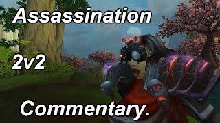 Assassination Commentary + Insane 1v2 - [Rogue PvP WoD Beta] [Sativ]