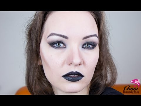 maquillage sorciere tres simple
