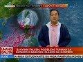 UB: Bagyong Falcon, posibleng tumama sa Batanes o Babuyan Islands sa Huwebes