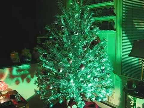 My 2012 Christmas Tree A 1960 S Evergleam Aluminum Christmas Tree