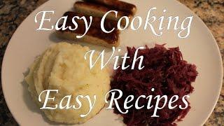 Simple German Recipe - Mashed Potatoes (kartoffelbrei)