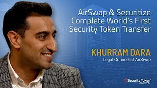 AirSwap & Securitize Complete World's First Security Token Transfer