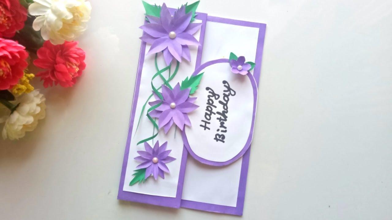 Beautiful Handmade Birthday card idea-DIY Greeting Cards ...