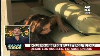 Repeat youtube video Exclusivo: Anderson Ballesteros,