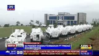 PT Pindad Serahterimakan 24 Panser Anoa kepada TNI