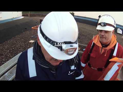 Worlds First Steel Oil Tank Inspection by an UAS | Odfjell HD