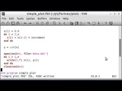 Modern Fortran by Example (6) Arrays and Plotting Part 2
