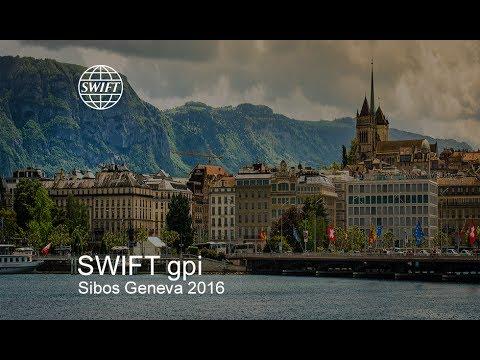 SWIFT gpi at Sibos 2016 in Geneva