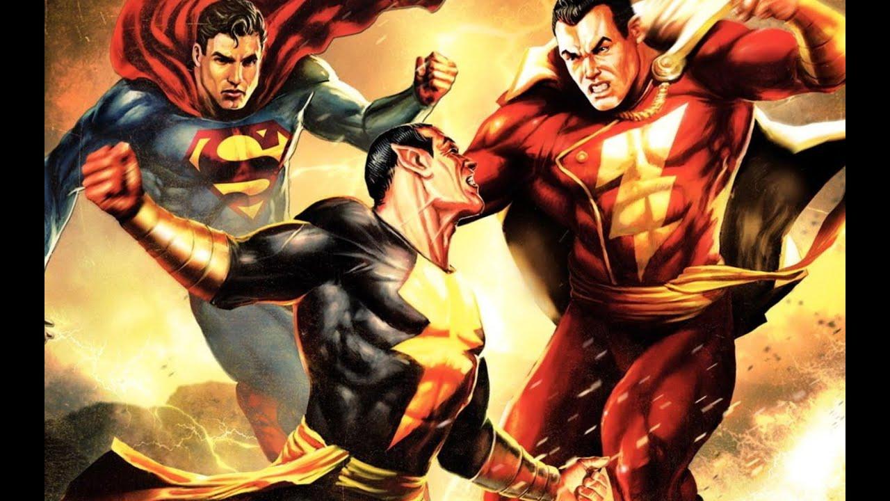 Download #1# Superman & Shazam vs Black Adam - MMV (AMV)