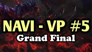 [EPIC] Crazy Game | NaVi vs VP (Virtus Pro) Highlights Grand Final DreamLeague Game 5