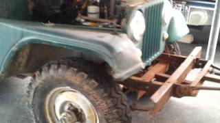1967 jeep cj5 cold start and idle