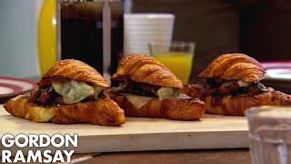 Merguez & Fontina Stuffed Croissants