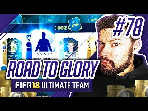 PLAYING THE DRAFT! - #FIFA18 Road to Glory! #78 Ultimate Team