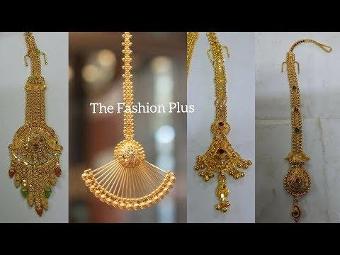 Latest Light Weight Gold Bindiya |Maangtika | Designs Under 4 To 10 Gram