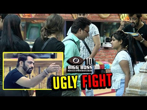 UGLY FIGHT Between Contestants   Bigg Boss...