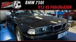 Totalcar Erőmérő: BMW 750i - V12-es padlógázon [ENG SUB]