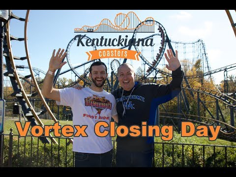 Kings Island's Vortex - Closed Forever!