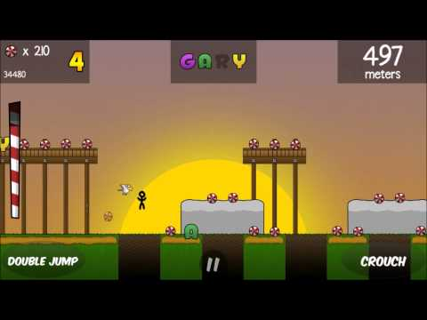 Game Maker Studio 'Run Gary Run' Gameplay For IOS And Android