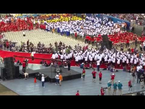 2015 Special Olympics Opening Ceremony Mexico