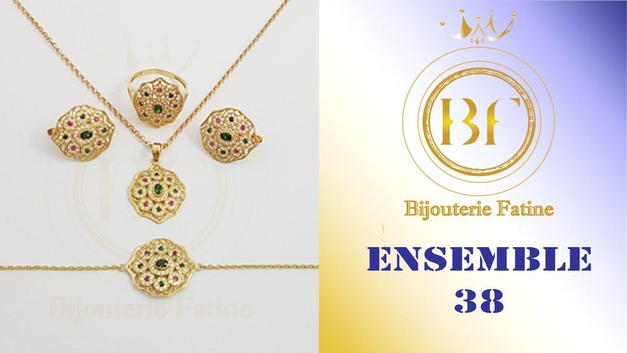 la réputation d'abord dernière collection Bons prix Ensemble 38 de luxe en Or 18 Carats