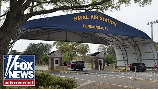 Officials hold press conference on NAS Pensacola shooting